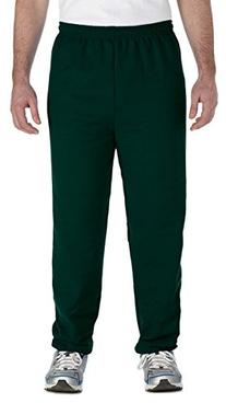 Gildan 18200 Unisex Heavy Blend Sweatpant,Small,Forest green
