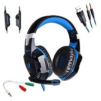 AFUNTA G2000 Stereo Gaming Headset Compatible PS4 PC with