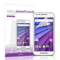 Moto G3 Screen Protector, amFilm® Premium HD Clear  Screen