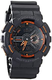 Casio Men's GA-110TS-1A4 G-Shock Analog-Digital Watch With