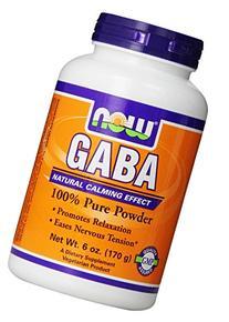 NOW Foods Gaba Pure Powder, 6 Ounces
