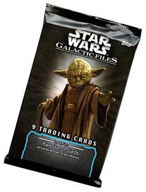 Galactic Files Series 1 Trading Card Retail Pack
