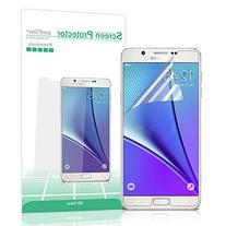 Galaxy Note 5 Screen Protector, amFilm® Premium HD Clear