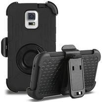 Galaxy S5 Case, ULAK Hybrid Rugged triple Layer Protection