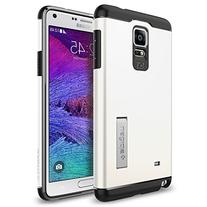 Spigen Slim Armor Galaxy Note 4 Case with Air Cushion