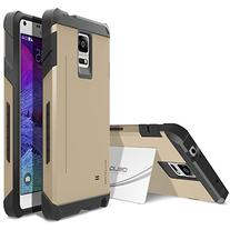 Galaxy Note 4 Case, OBLIQ  with Kickstand Slim Fit Bumper