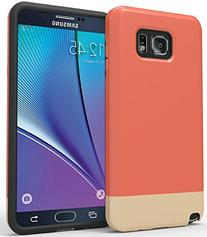 Note 5 Case: Stalion® Slider Series Matte-UV Textured