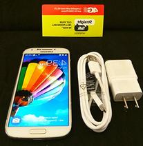Samsung Galaxy S4 White - for Straight Talk with Fast 4g LTE