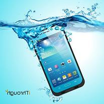 Galaxy S4 Waterproof Case, iThrough Waterproof, Dust Proof,