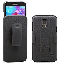 Galaxy S5 Case,  Combo Shell & Holster Case Super Slim Shell