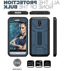 """Encased Galaxy S5 """"Pantera Series"""" Shockproof Case with"""