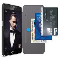 Galaxy S6 Case, Maxboost Samsung Galaxy S6 Wallet Case -