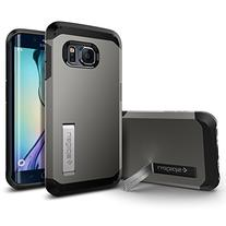 Spigen Tough Armor Galaxy S6 Edge Case with Kickstand and