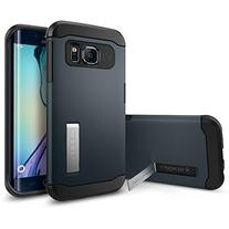 Spigen Slim Armor Galaxy S6 Edge Case with Kickstand and Air