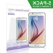 Galaxy S6 Screen Protector, amFilm  Premium HD Clear  Screen