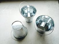 Dazzling Toys Large Galvanized Buckets  Great Buckets for