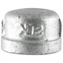 Ldr .50 in. Galvanized Caps 311CA-12