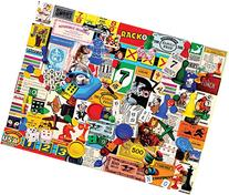 White Mountain Puzzles Game Pieces - 1000 Piece Jigsaw