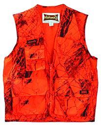 Hide Sneaker Big Game Vest, XX-Large, Blaze Camouflage