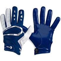 Cutters Gamer All Purpose Gloves, Navy, Adult Large