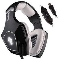 SADES A60S/OMG PC Wired USB Stereo Gaming Headset Headband