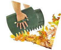 KOVOT Garden Hand Rake Set of 2- Great for Leaf Pickup,