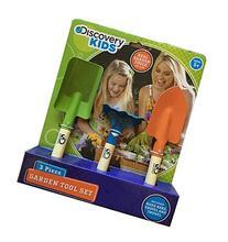 Discovery Kids 3 Piece Garden Tool Set