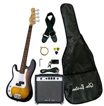 Glen Burton GB150BCO-TS Electric Bass Guitar, SG-Style ,