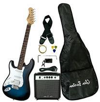 Glen Burton GE101BCO-BLS  Electric Guitar Stratocaster-Style