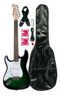 Huntington GE139-GRS Electric Guitar Pack, Greenburst