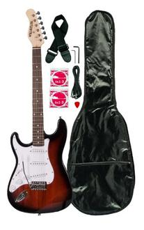 Huntington GE139-RDS Electric Guitar Pack, Redburst