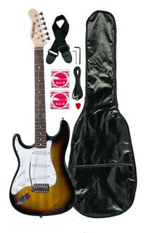 Huntington GE139-TS Electric Guitar Pack, Tobacco Sunburst
