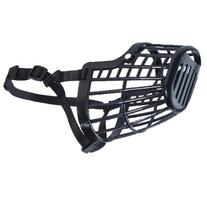 Guardian Gear Flexible Plastic Dog Basket MuzzleLarge, Black