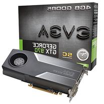 EVGA GeForce GTX 970 4GB SC GAMING, Silent Cooling Graphics