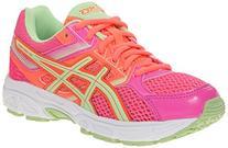 ASICS Gel Contend 3 GS Running Shoe , Hot Pink/Pistachio/