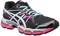 ASICS Women's Gel-Evate 2 Running Shoe,Titanium/Purple/Coral