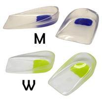 Sof Sole Women's Gel Heel Cup Insoles,Transparent,6