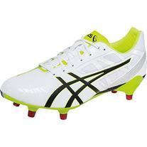 ASICS Men's GEL-Lethal Speed White/Black/Flash Yellow Rugby