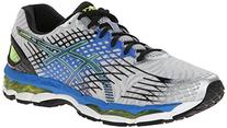 ASICS Men's Gel-Nimbus 17 Running Shoe,Lightning/Black/Flash Yellow,8.5 M US