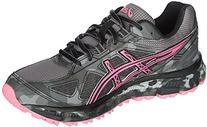 ASICS Women's Gel-scram 2 Running Shoe, Titanium/Hot Pink/