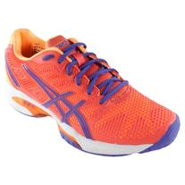 Asics Women's Gel-Solution Speed 2 Tennis Shoes Hot Coral