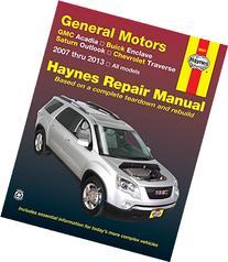 General Motors GMC Acadia, Buick Enclave, Saturn Outlook,