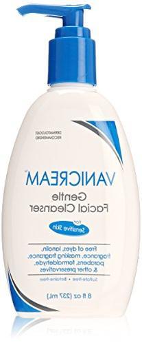 Vanicream Gentle Facial Cleanser for Sensitive Skin, 8 fl oz