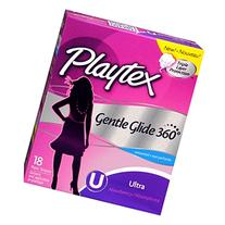 Playtex Gentle Guide Glide Unscented Ultra Tampons - 18 CT