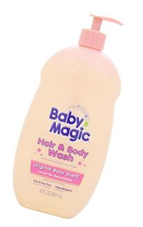 Baby Magic Hair and Body Wash, Original Baby Scent, 30
