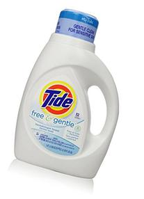 Tide Free and Gentle Liquid Laundry Detergent, 50 oz, 32