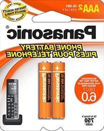 Panasonic Genuine AAA NiMH Rechargeable Batteries for DECT