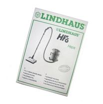 Package of 6 Genuine Lindhaus HF6 Filtration Bags and 1