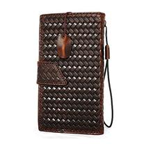 Genuine Italy Oil Leather Case for Iphone 6s Plus + Book
