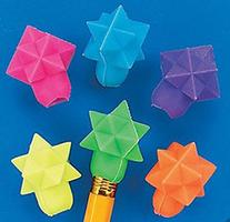Geometric Star Eraser Top